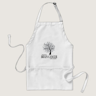 Brain Cancer Tree Adult Apron