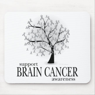 Brain Cancer Tree Mouse Pad