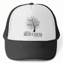 Brain Cancer Tree Trucker Hat