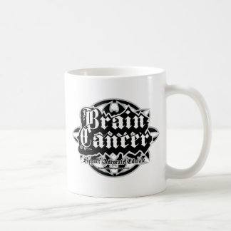 Brain Cancer Tribal Coffee Mug