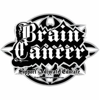 Brain Cancer Tribal Cutout