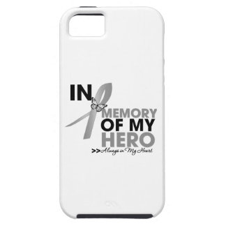 Brain Cancer Tribute In Memory of My Hero iPhone 5 Covers