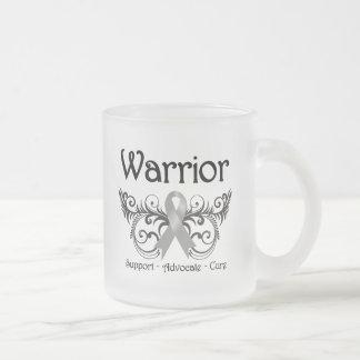 Brain Cancer Warrior Scroll Coffee Mug