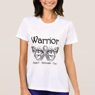 Brain Cancer Warrior Scroll T-shirt