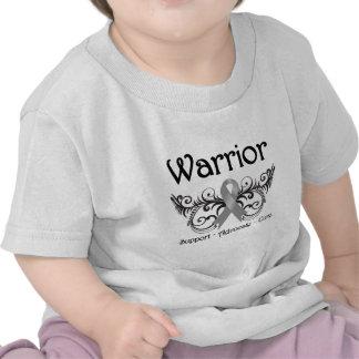 Brain Cancer Warrior Scroll Tshirt