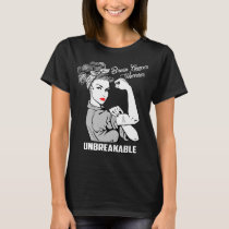 Brain Cancer Warrior Unbreakable T-Shirt