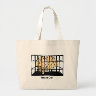 Brain Cell Canvas Bag