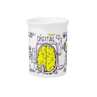 Brain center drink pitchers