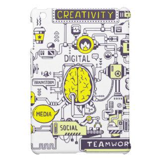 Brain center iPad mini cover