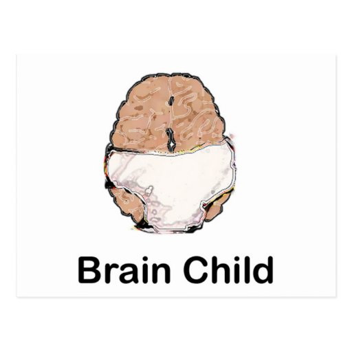 Brain Child Post Card