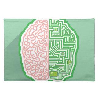 Brain Circuit vector Cloth Placemat