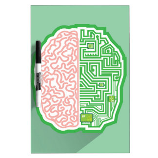 Brain Circuit vector Dry Erase Board
