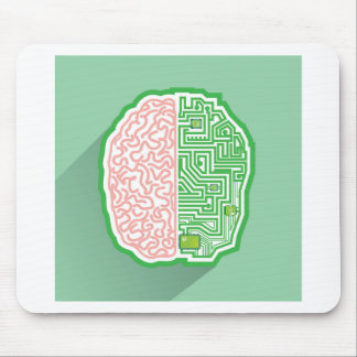 Brain Circuit vector Mouse Pad