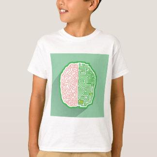 Brain Circuit vector T-Shirt