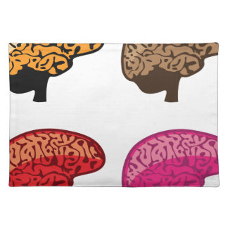Brain Cloth Placemat