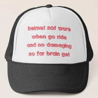 Brain Damage Dirt Bike Motocross Cap Hat