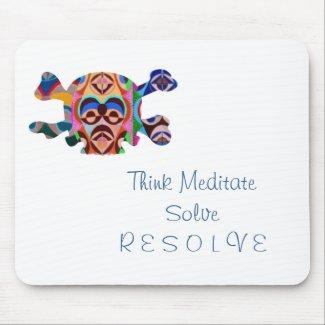 Brain Dead Skull - Meditate Resolve Mousepad