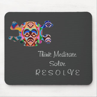 Brain Dead Skull - Meditate Resolve Mouse Pads