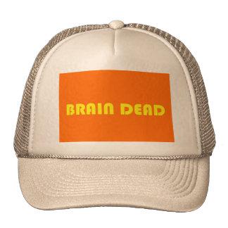 Brain dead trucker hat