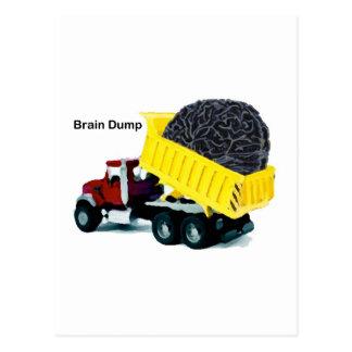 Brain Dump Postcard
