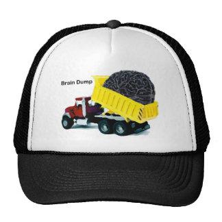 Brain Dump Trucker Hat