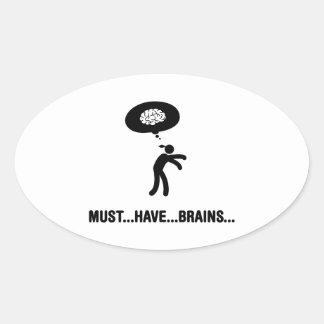 Brain Eater Sticker