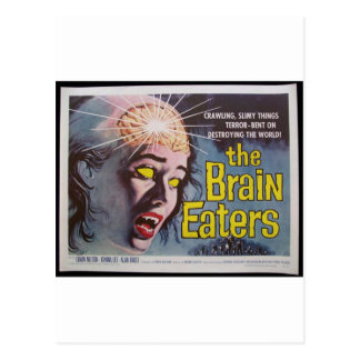 Brain Eaters Postcard