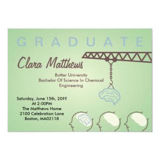 Brain Factory Graduation Celebration Invitation