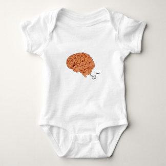 Brain fart baby bodysuit