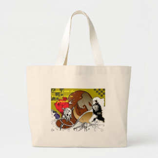 Brain Fart Jumbo Tote Bag