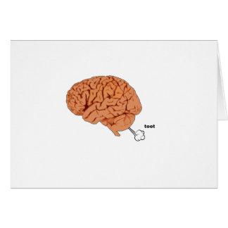 Brain fart card