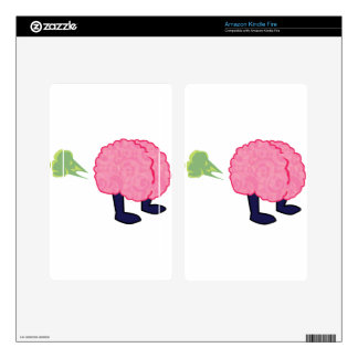 Brain Fart Decal For Kindle Fire