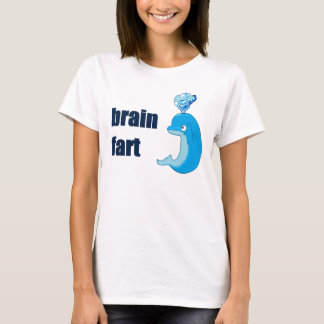Brain Fart dolphin Womens Tee