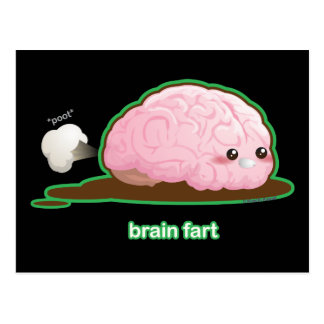 Brain Fart Postcard