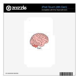 Brain Fart Skins For iPod Touch 4G