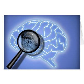 Brain fingerprint card