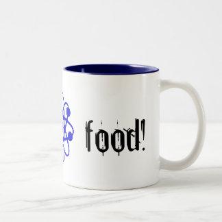 brain food! Two-Tone coffee mug