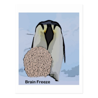 Brain Freeze 2 Postcard