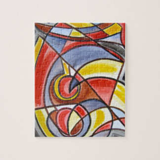 Brain Freeze - Abstract Art Jigsaw Puzzle