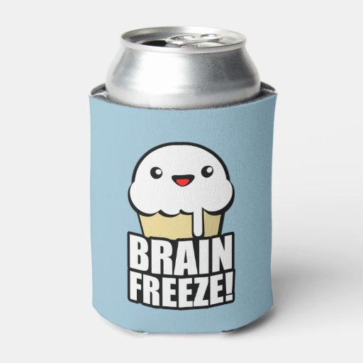 Coolers That You Can Freeze ~ Brain freeze can cooler zazzle