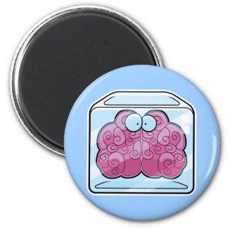 Brain Freeze Cartoon Magnet