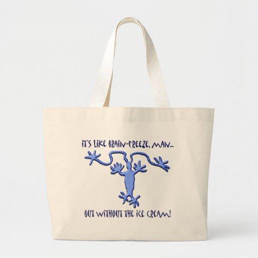 Brain Freeze! - Jumbo Tote Bags