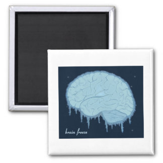 Brain Freeze Magnet