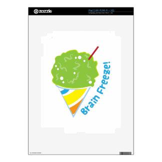 Brain Freeze Skins For The iPad 2