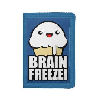 Brain Freeze Tri-fold Wallet