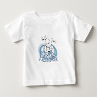 Brain Freeze with cow Baby T-Shirt