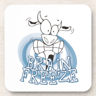 Brain Freeze with cow coaster