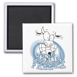 Brain Freeze with cow magnet