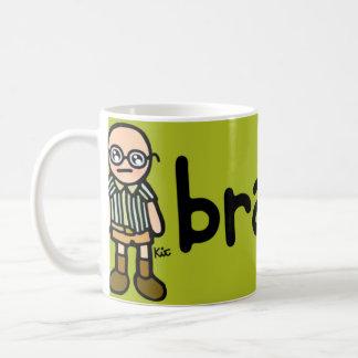 brain fuel. coffee mug