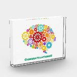 """Brain Gears Award<br><div class=""""desc"""">Brain Gears Design,  showing mechanics is available for a variety of products. Text adding is optional.</div>"""
